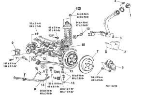 Rear suspension diagram and torque specs  EvolutionM  Mitsubishi Lancer and Lancer Evolution