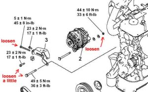 Help please with Power Steering and AC Belt Tensioner?  EvolutionM  Mitsubishi Lancer and