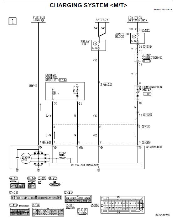 135245d1243985928 us lancer wiring diagram pdf charging.system?resize\=565%2C698 diagrams 1271794 mitsubishi alternator wiring diagram Ford Alternator Wiring Diagram at reclaimingppi.co