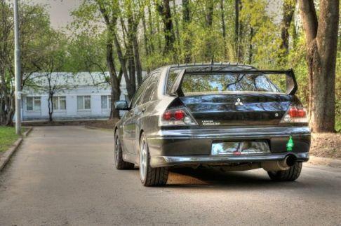 2004 Mitsubishi Lancer Evo VIII 1