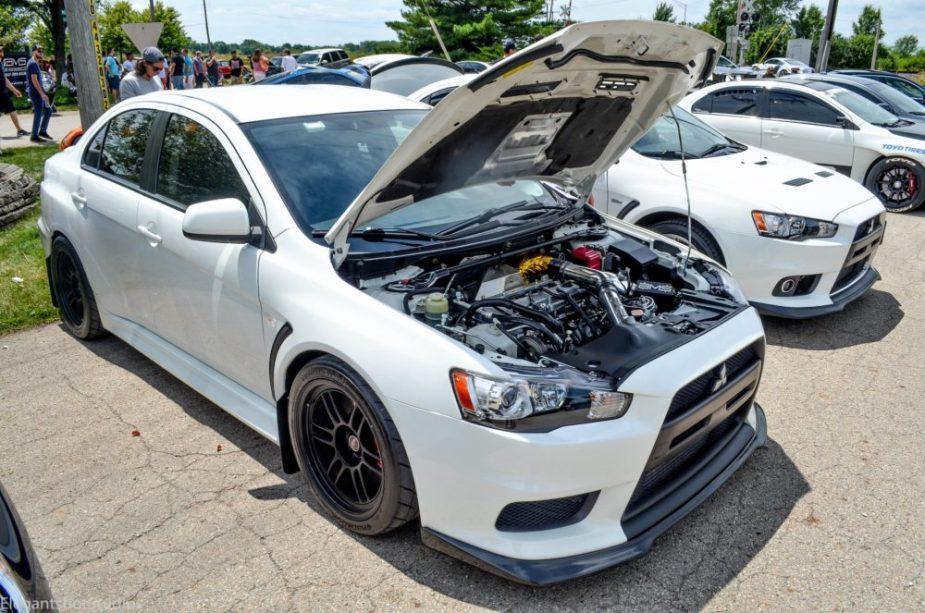 2010 Mitsubishi Evolution X SE