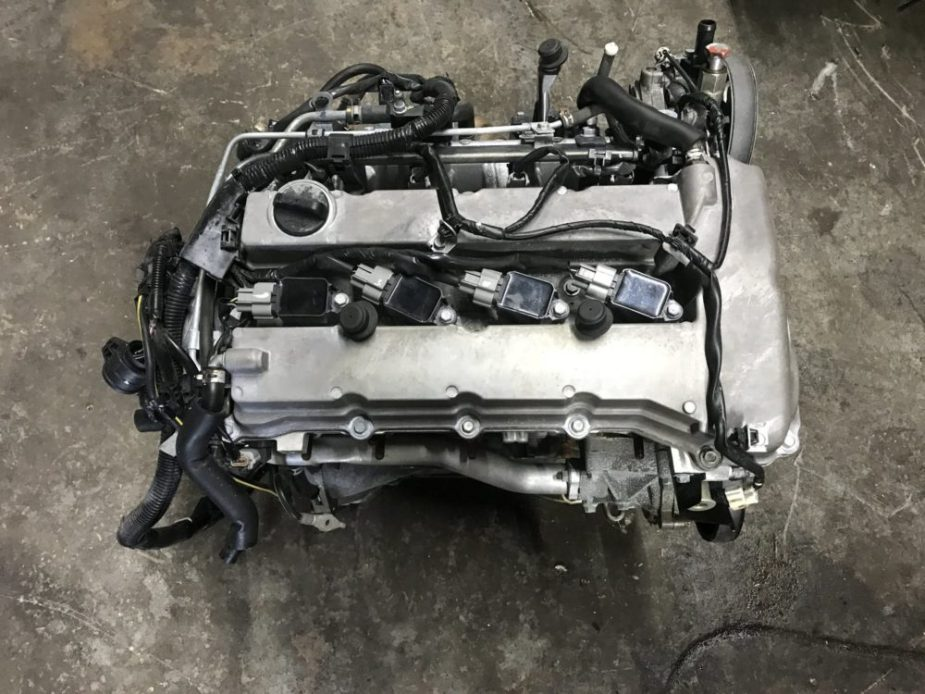 Mitsubishi 4B11T Evolution X Long Block