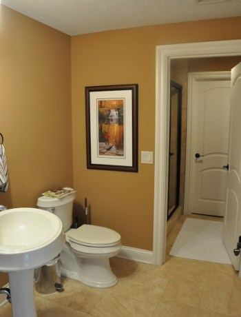 Powder Room Makeover Before
