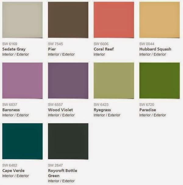 2014 Interior Paint Colors: 2015 Color Forecast