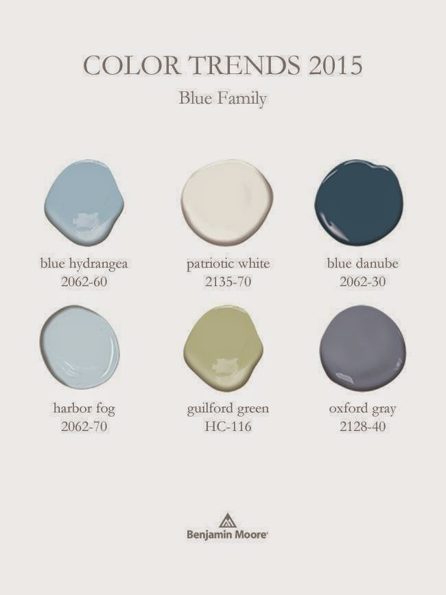 Benjamin Moores 2015 Color Of The Year And Color Trends