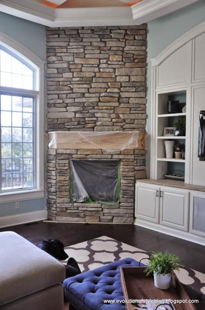 Fireplace Stone Veneer Installation Tutorial