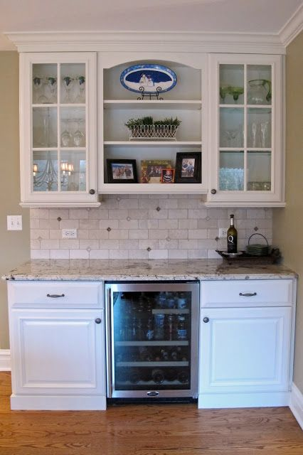 Six ways to give your kitchen a custom look evolution of for Convert kitchen desk to pantry
