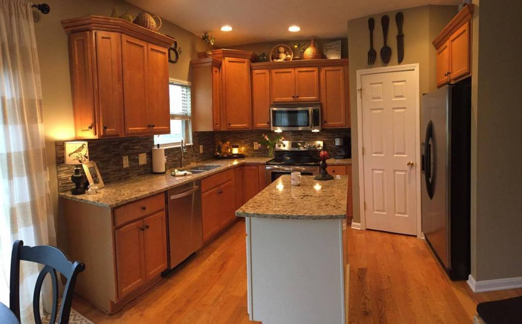 The Maple Kitchen Facelift Project Evolution Of Style