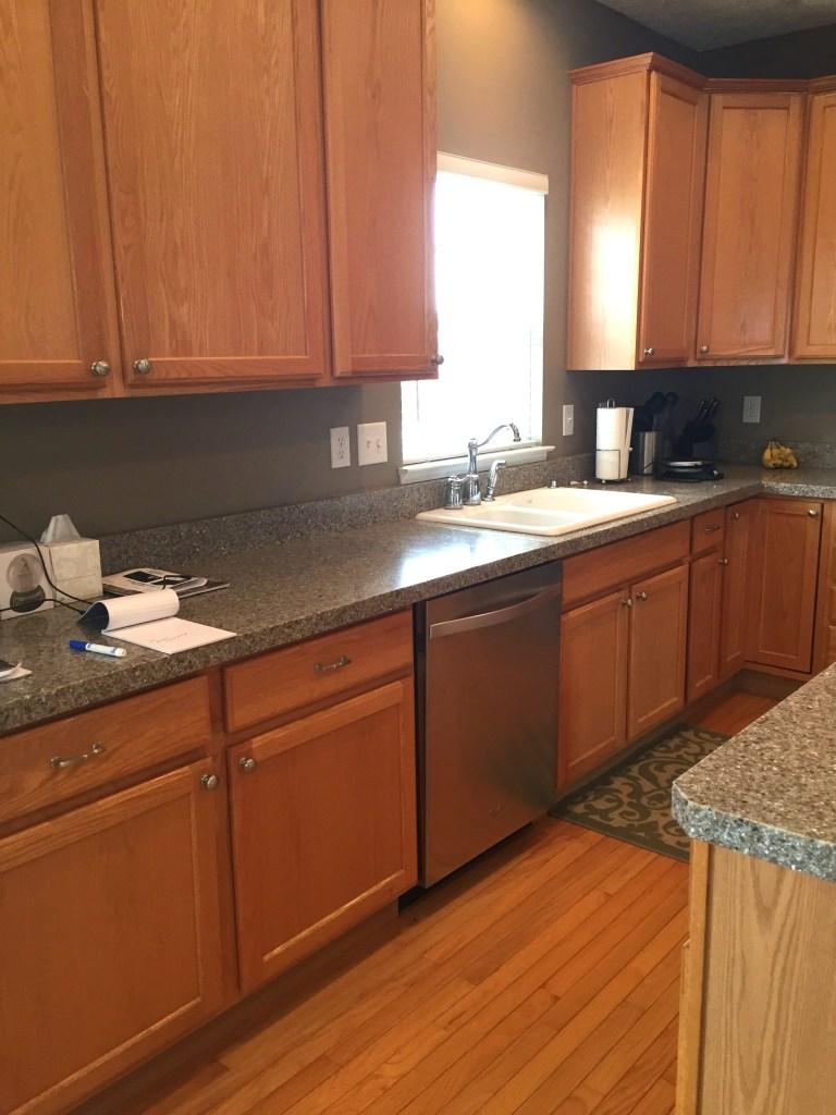 Oak Kitchen Remodel