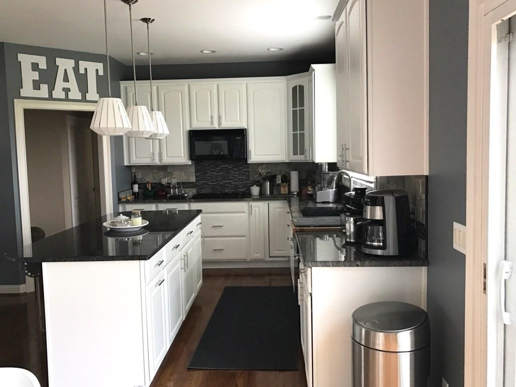 Painted Maple Kitchen