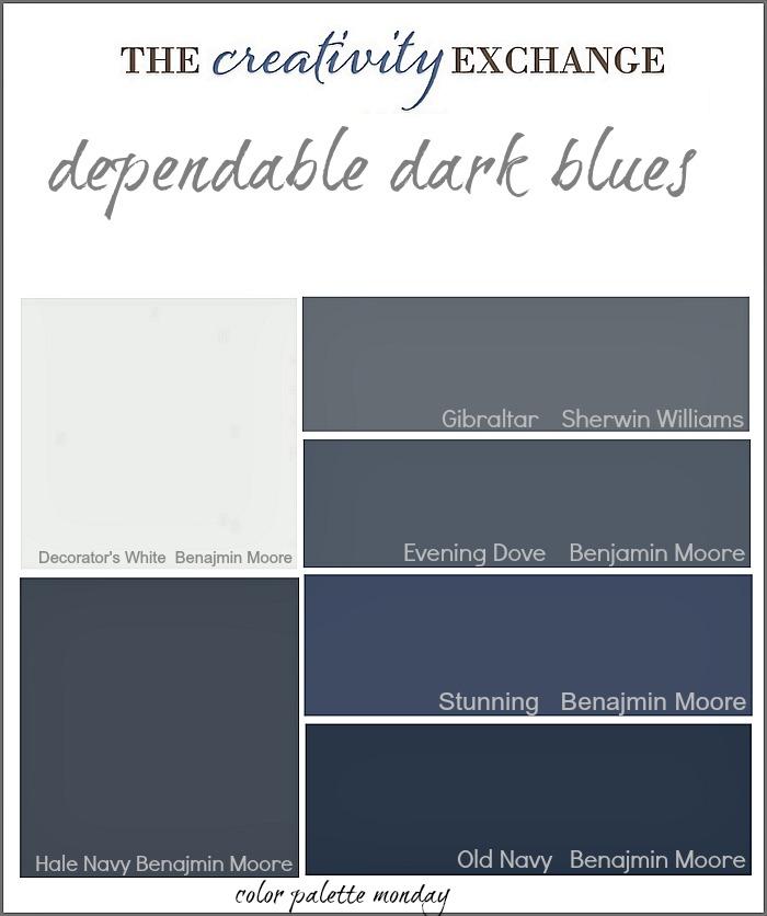 Popular Navy Blue Paint Colors