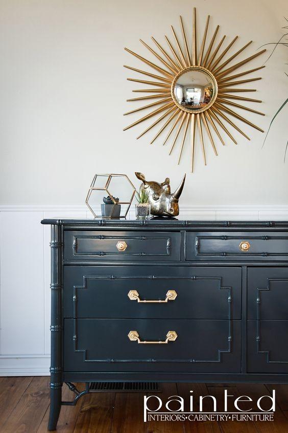 High gloss dresser