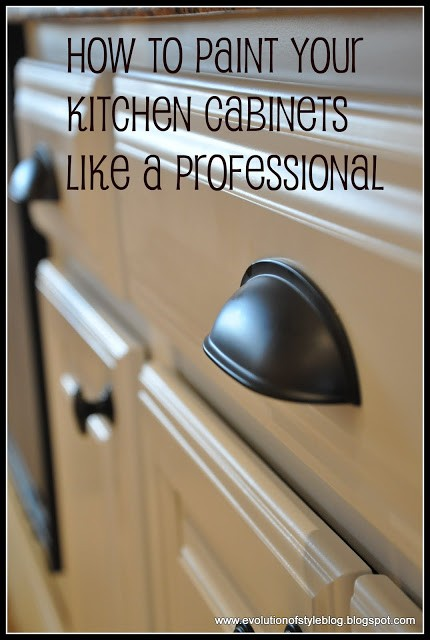 How to Paint Your Cabinets Like a Pro