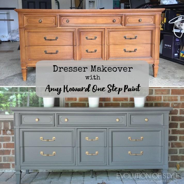 Amy Howard Dresser Makeover