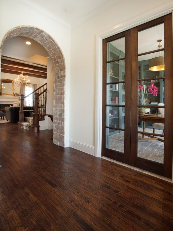 Exposed Brick Basement Arch