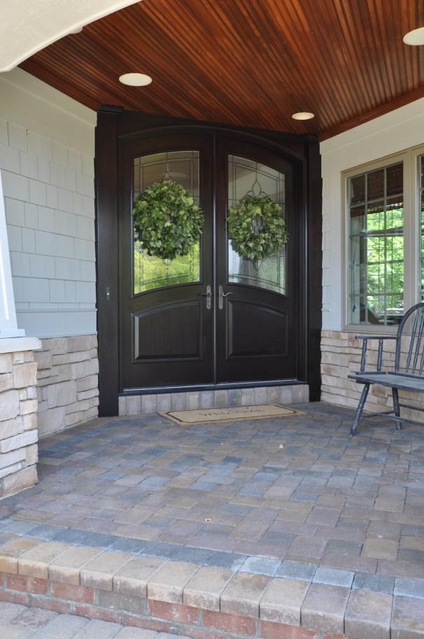 Front Doors Java Stain