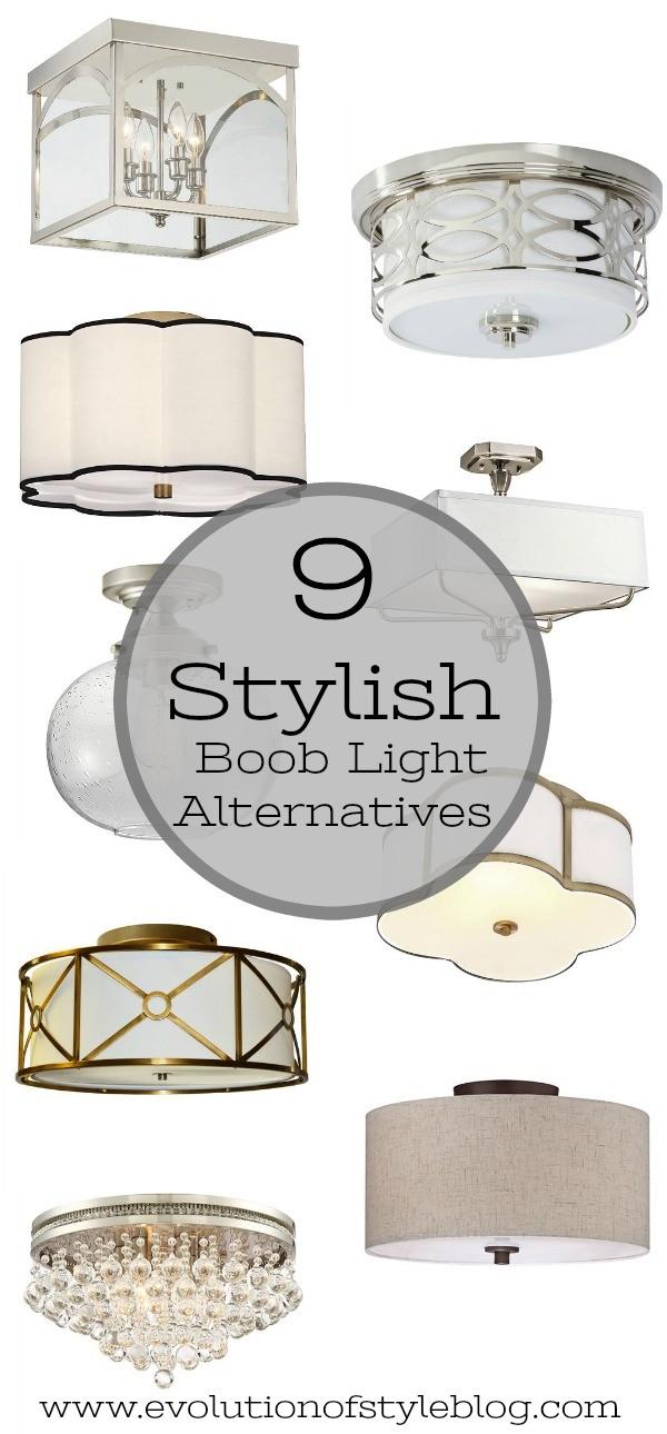 Builder Grade Lighting Alternatives - Evolution of Style