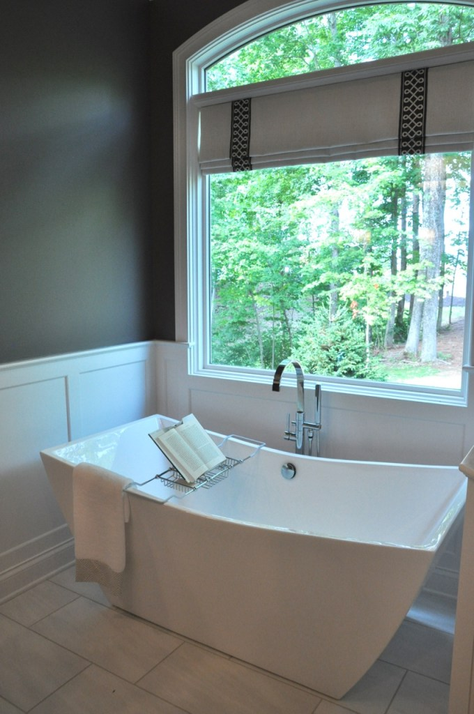 Home Tour: Master Bathroom Gauntlet Gray