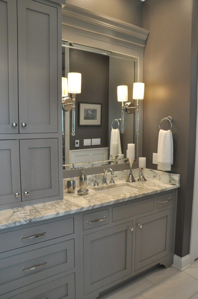 Gauntlet Gray Master Bathroom
