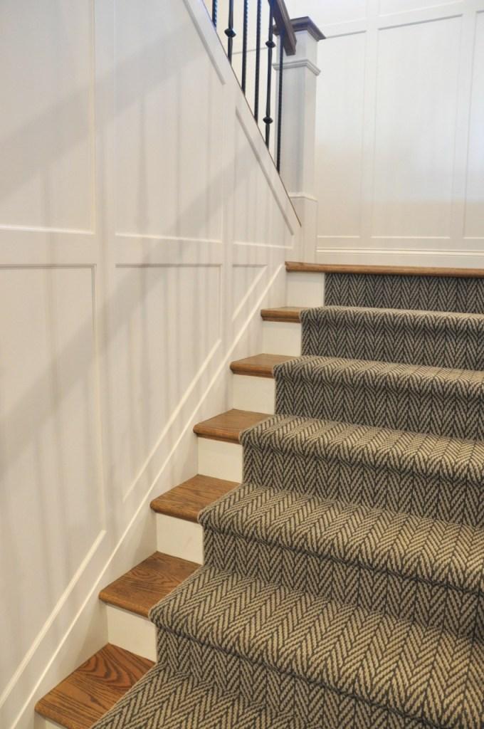 Wainscot Staircase
