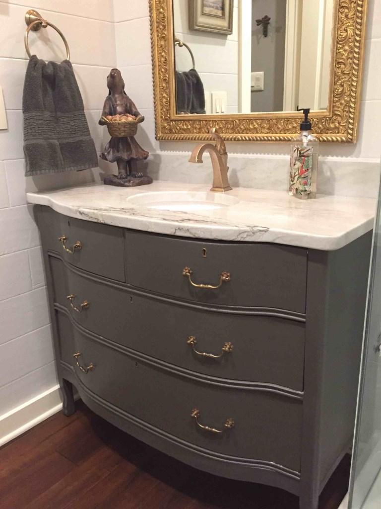 Gray Dresser Vanity