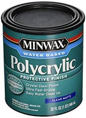 Minwax Clear Matte Polycrylic