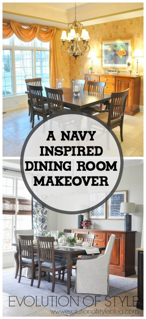 Dining Room Makeover: Before and After