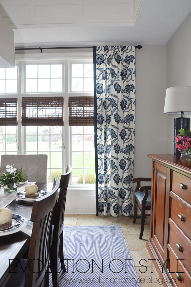 One Room Challenge Navy Dining Room Makeover