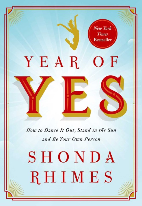 Favorite Books of 2017:  Year of Yes