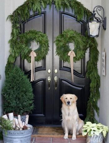 Maison de Cinq Christmas Wreaths
