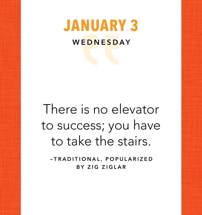 Great Leaders Calendar Page