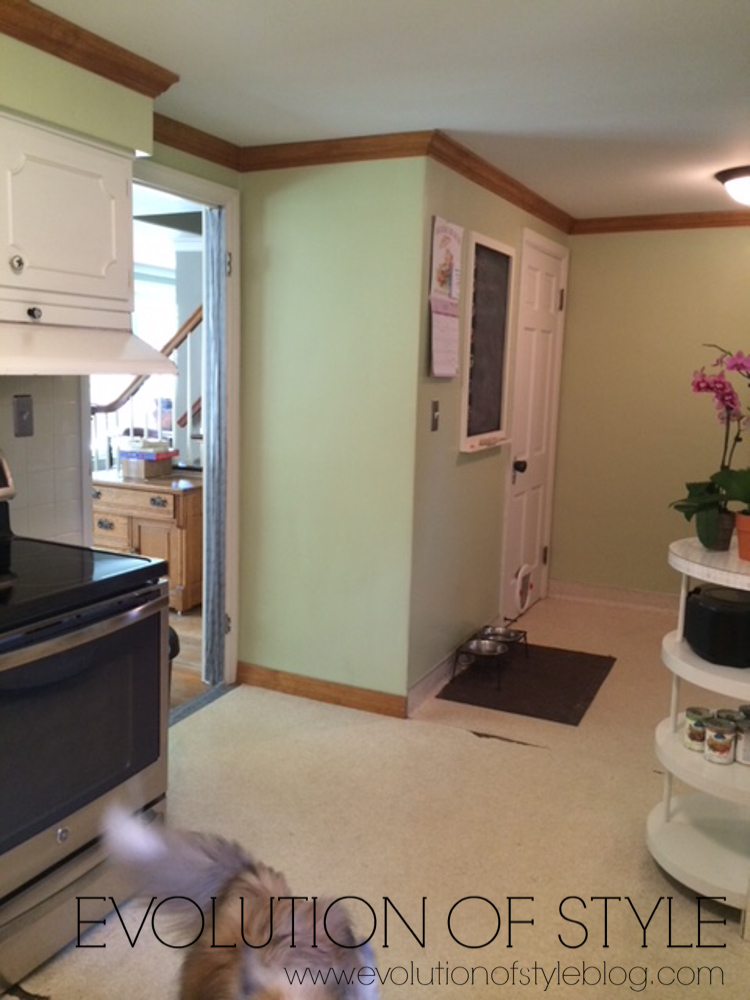 1950's Kitchen Remodel BEFORE