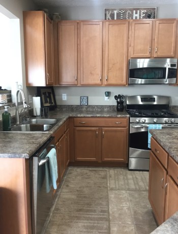 Evolution of Style - Complete Kitchen Refresh Before