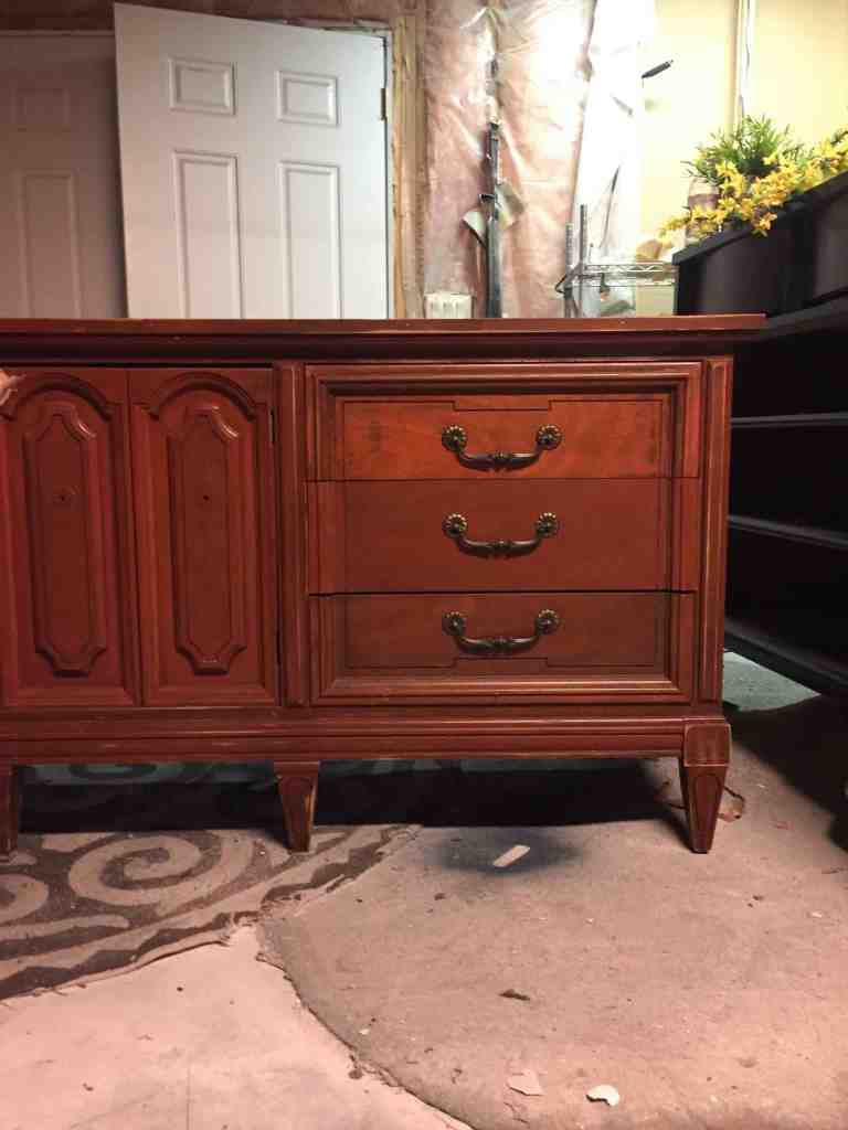 Dixie Dresser Before