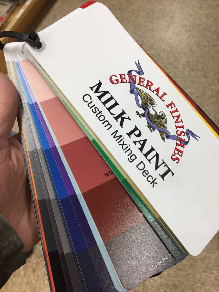 General Finishes Paint Mixing Deck