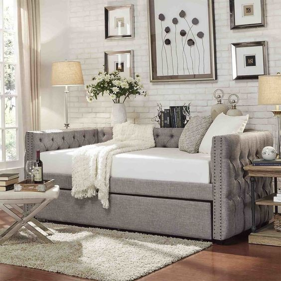 Daybed with Trundle for Office