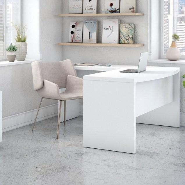 L Shaped Desk Configuration