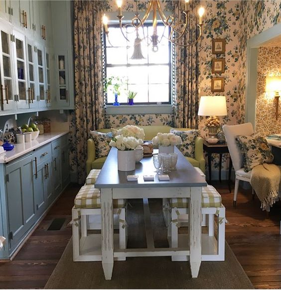 Julian Price Breakfast Room After