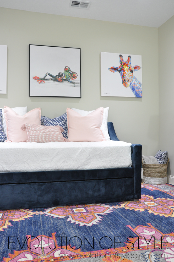 Blush and Navy Spring 2018 One Room Challenge Reveal