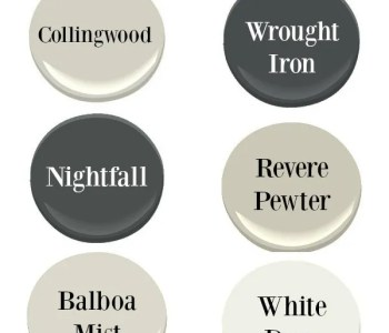 Favorite Paint Colors Benjamin Moore