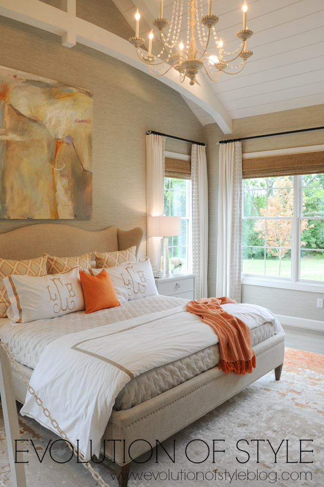 Master bedroom home tour