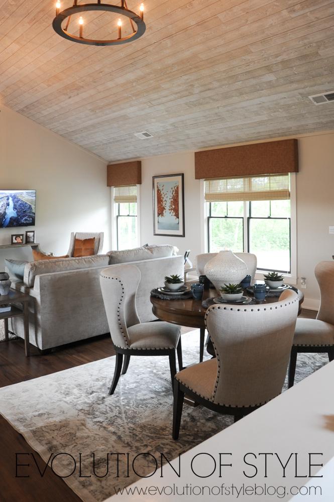 Modern farmhouse bonus room