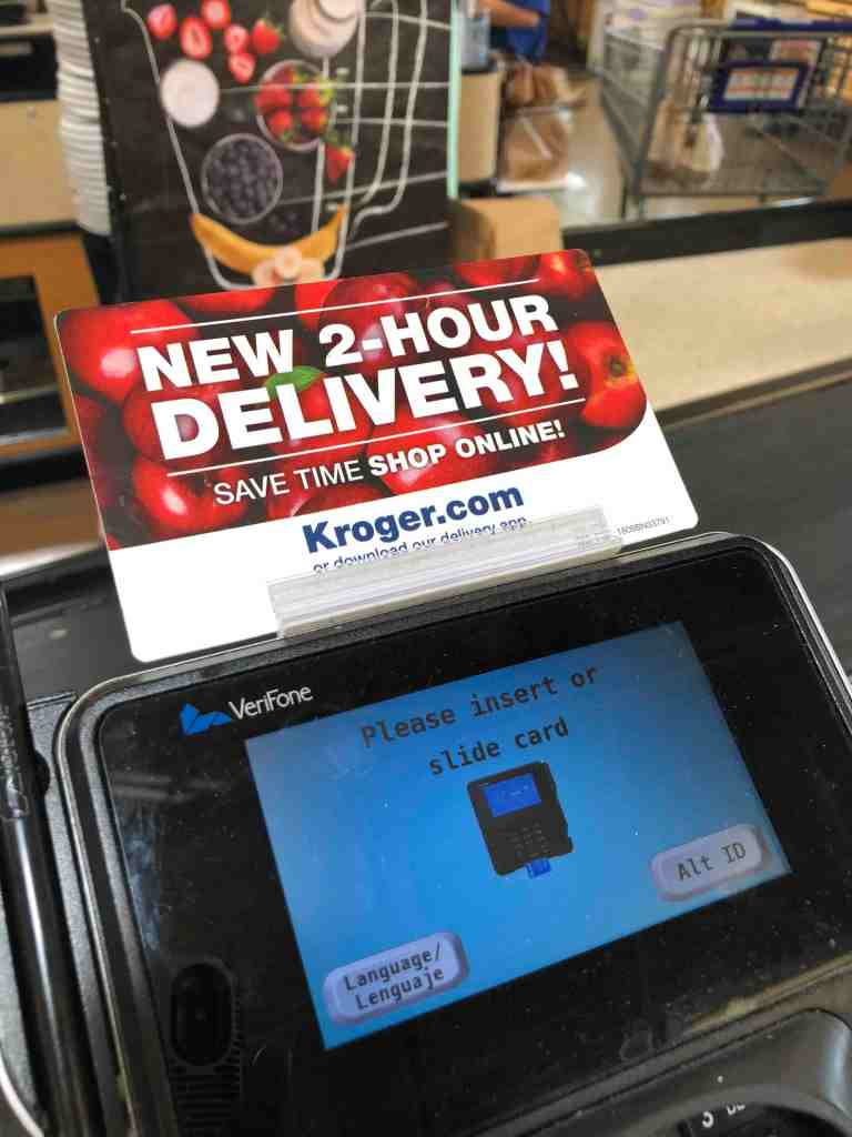 Kroger Two Hour Delivery