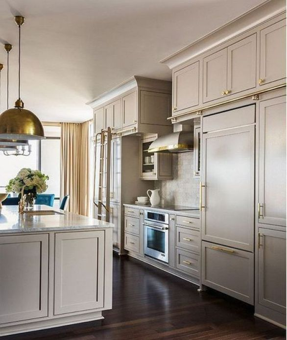 Sherwin Williams - Anew Gray Cabinets