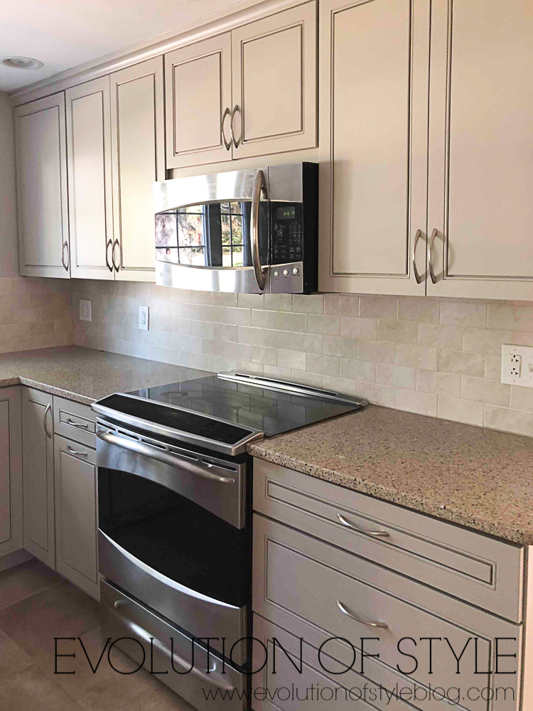 Anew Gray Sherwin Williams Painted Kitchen Cabinets