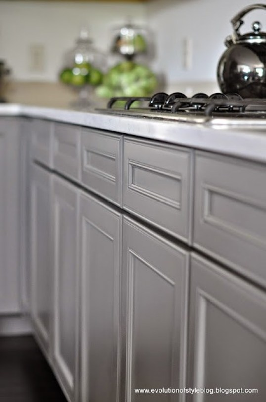 Sherwin Williams Gauntlet Gray Cabinets
