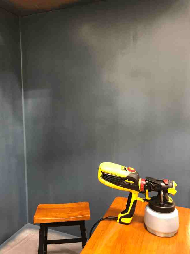 Painting with Wagner Sprayer
