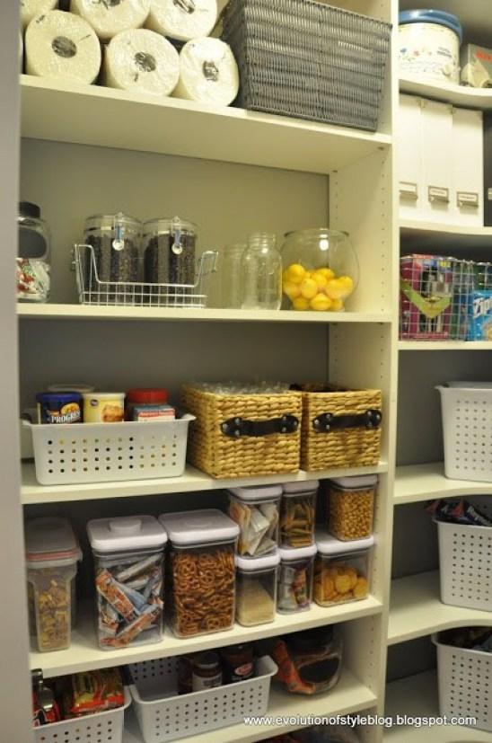 Reorganizing Your Pantry
