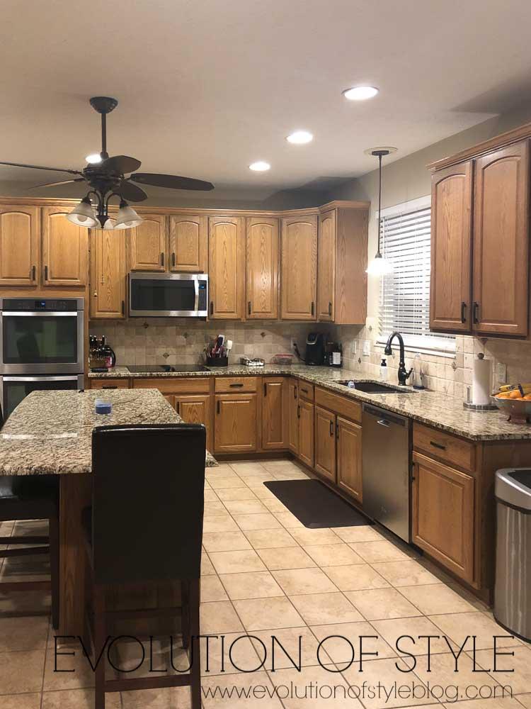 Oak Kitchen - Before