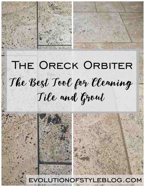 Oreck Orbiter: The Best Tool for Cleaning Tile and Grout